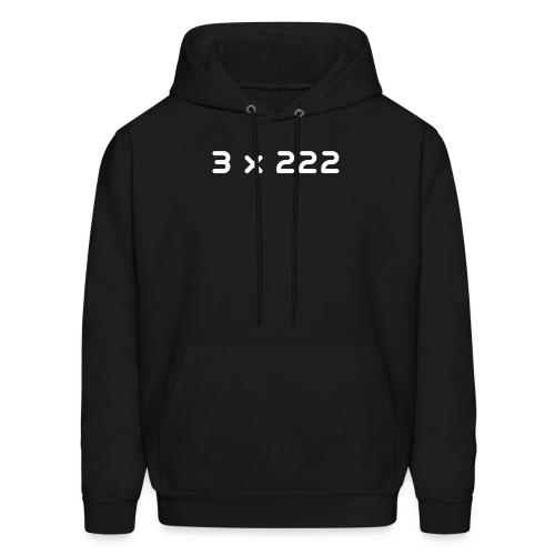 3 x 222 - Men's Hoodie