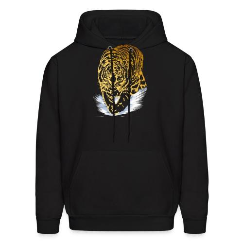 Golden Snow Tiger - Men's Hoodie