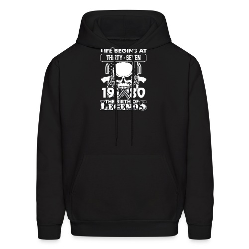 1980 The birth of Legends gift shirt 37 - Men's Hoodie