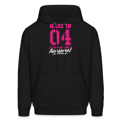 Made In 2004 Awesome 13th Birthday - Men's Hoodie