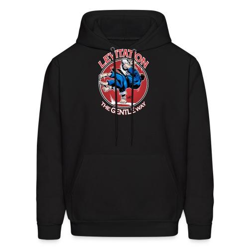 Judo Shirt - Levitation for dark shirt - Men's Hoodie
