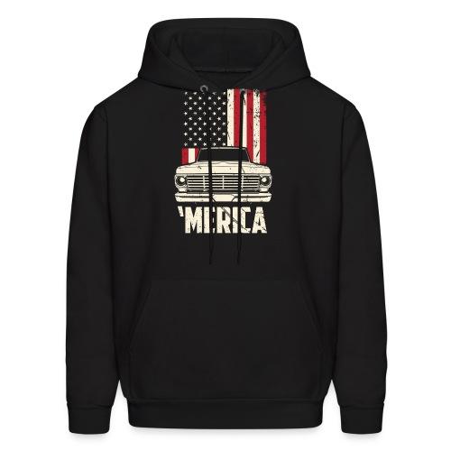 'Merican F100 Truck Men's T-Shirt - Men's Hoodie