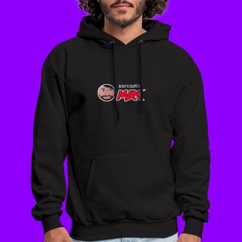SarcasticMax cola beverage logo - Men's Hoodie