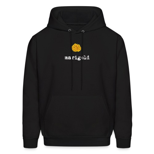 Marigold (white text) - Men's Hoodie