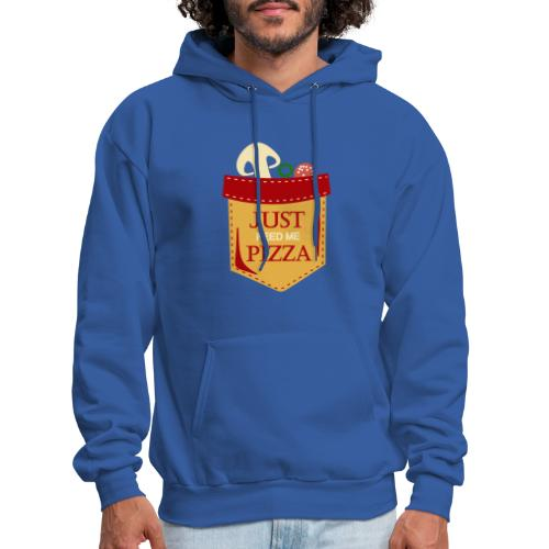 Just feed me pizza - Men's Hoodie