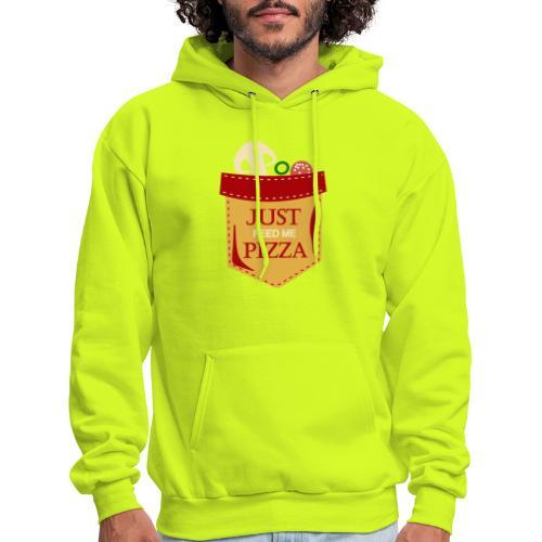 Just feed me pizza - Men's Hoodie