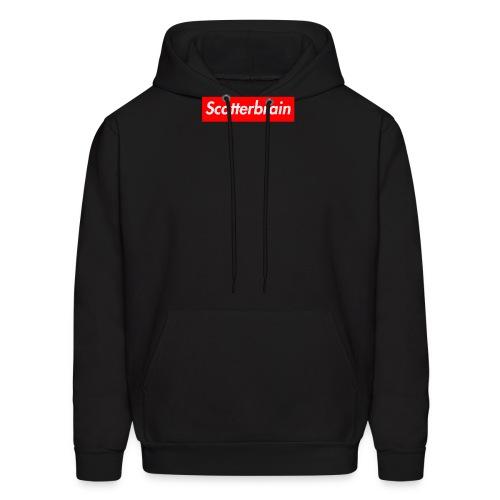 scatterbrain logo - Men's Hoodie