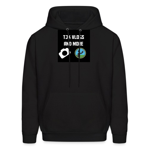 TJK Vlogs and More logo clothing - Men's Hoodie