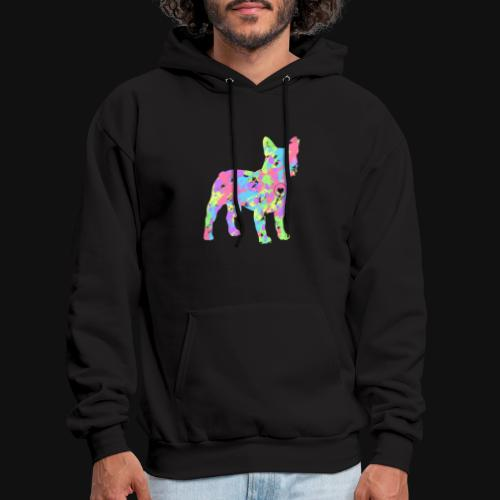 Frenchie love splatter - Men's Hoodie