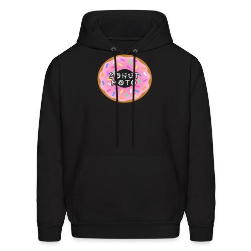 Donut Moto Logo png - Men's Hoodie