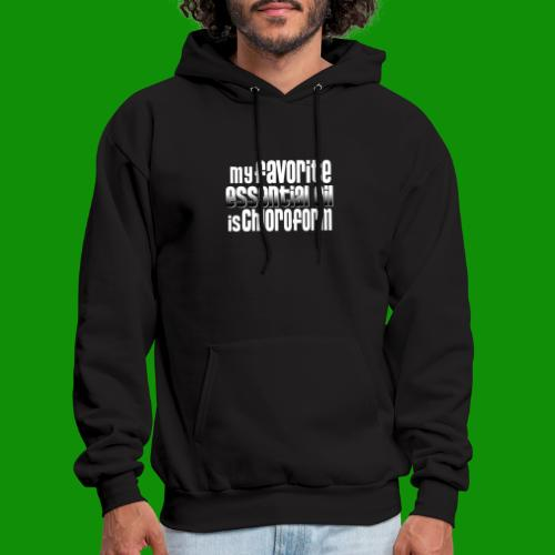 Chloroform - My Favorite Essential Oil - Men's Hoodie