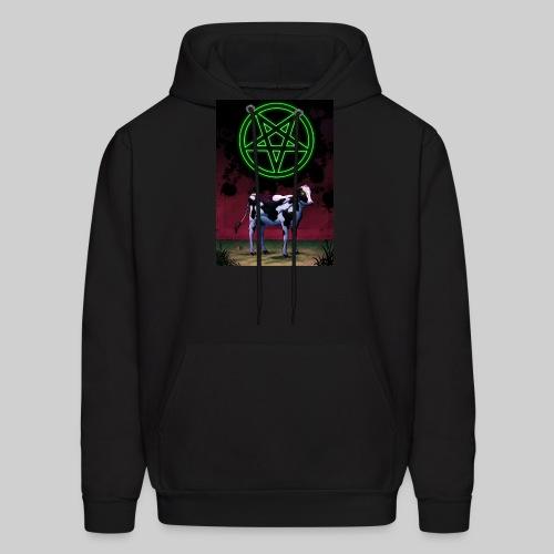 Satanic Cow - Men's Hoodie