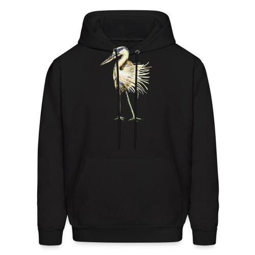 Great Blue Heron - Men's Hoodie