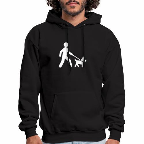 Walk the dog - Men's Hoodie
