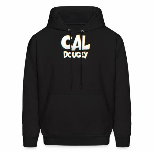 CAL DOUGEY TEXT - Men's Hoodie