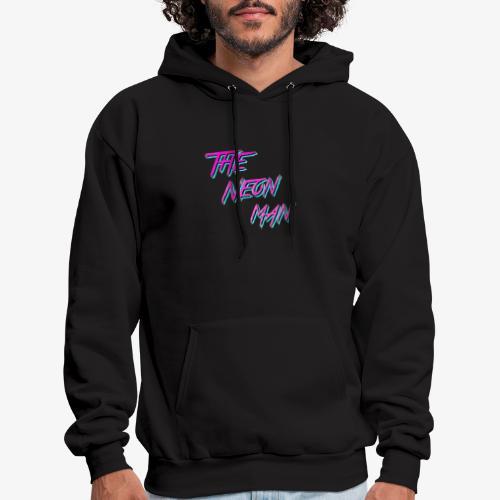 The Neon Man Retro - Men's Hoodie