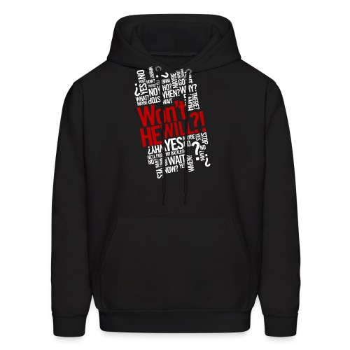 Won't He Will - Men's Hoodie