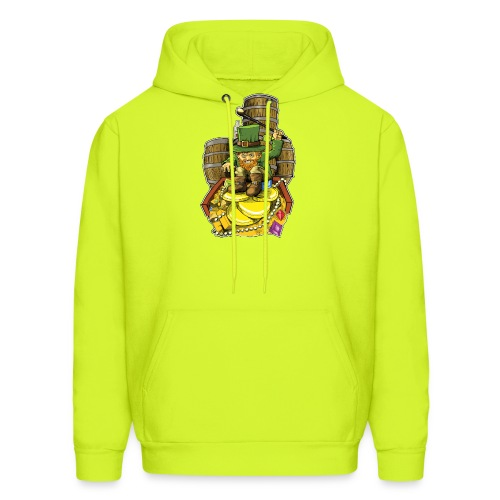 Angry Irish Leprechaun - Men's Hoodie