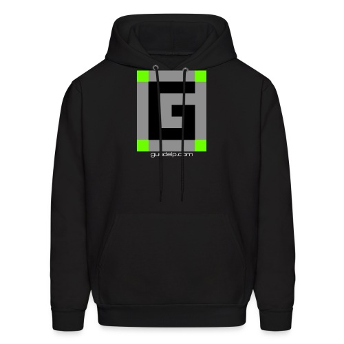 Guude Logo with White Text - Men's Hoodie