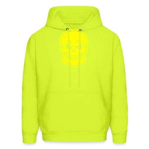 Skull vector yellow - Men's Hoodie