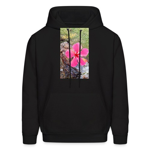 Pink Beach Flower - Men's Hoodie