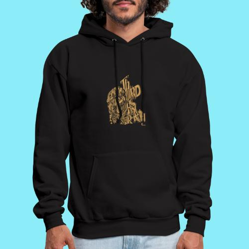 The Lord is my strength Psalm 28:7 - Men's Hoodie