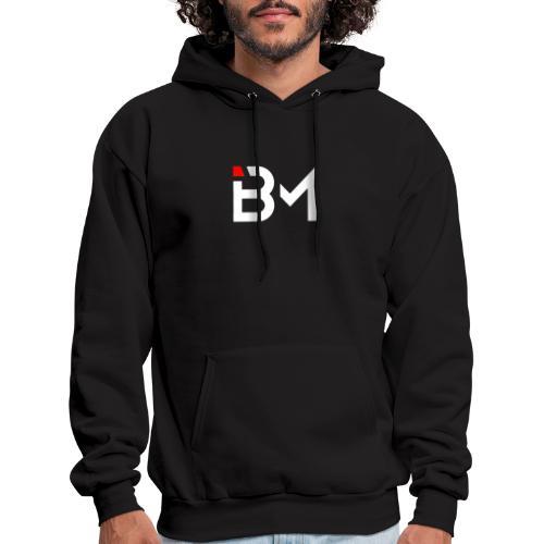 Bench Mob logo no lettering (white) - Men's Hoodie