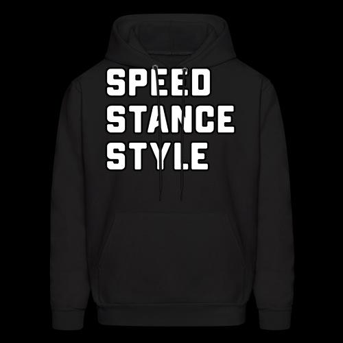 Speed Stance Stlye BIG - Men's Hoodie