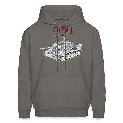 Tiger 1 Panzerkampfwagen VI Tank - Men's Hoodie