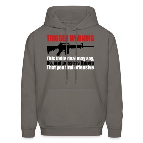 Trigger warning - Men's Hoodie