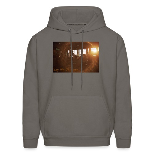 Airport Say No To Love Film Photography - Men's Hoodie