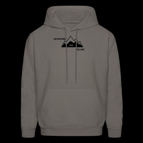 Mountain Design - Men's Hoodie