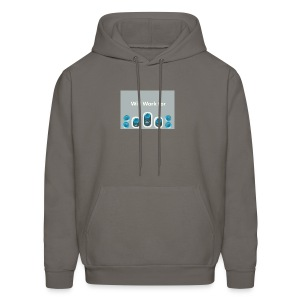 Will_work_for_buttons - Men's Hoodie