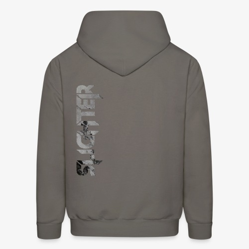Slighter Line Glitch Logo - Men's Hoodie