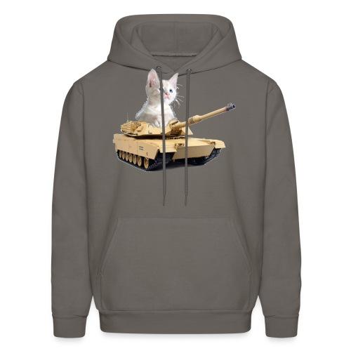 Tank Cat - funny Cat in a rc tank - Men's Hoodie