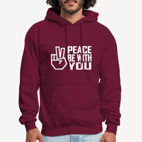 PEACE BE WITH YOU - Men's Hoodie