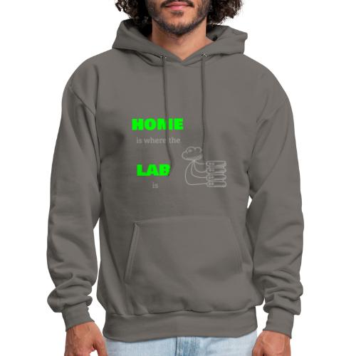 Home Is Where The Lab Is - Men's Hoodie