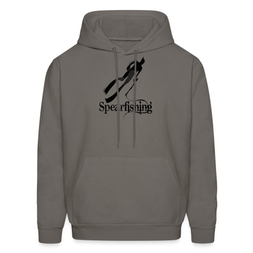 Spearfishing Design - Men's Hoodie