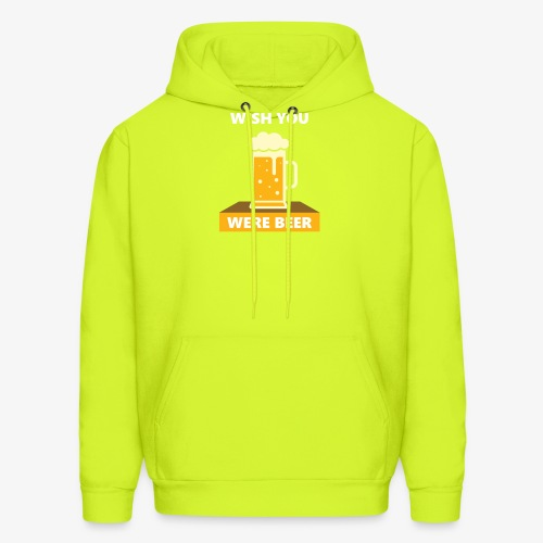 wish you were beer - Men's Hoodie