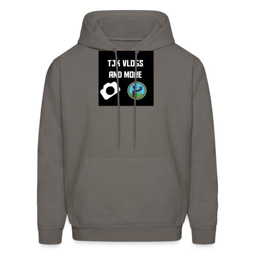 TJK Vlogs and More logo clothing - Men's Hoodie