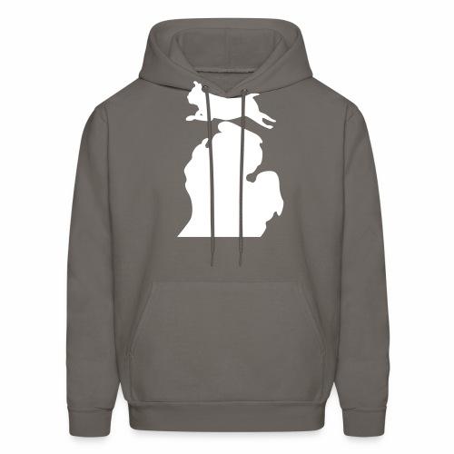 Pug Bark Michigan - Men's Hoodie