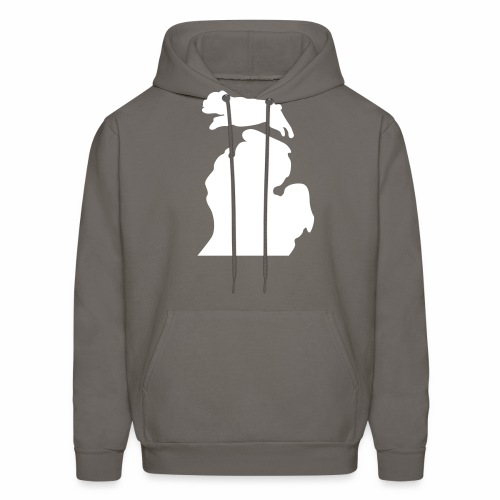 Bark Michigan Bulldog - Ferris State Colors - Men's Hoodie