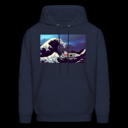 Space Wave - Men's Hoodie