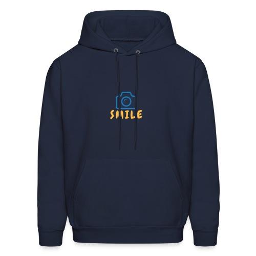 SMILE. - Men's Hoodie