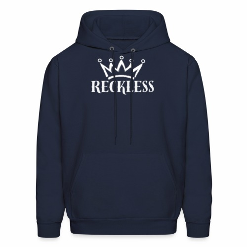 Reckless White - Men's Hoodie