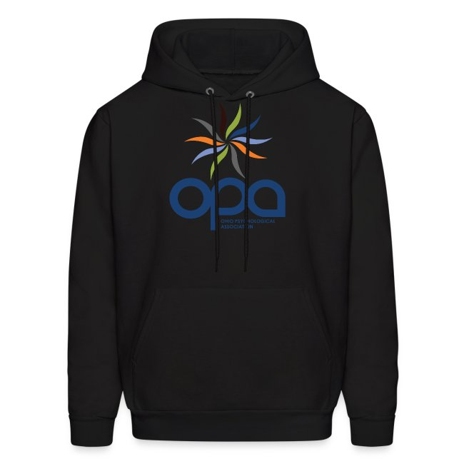 Hoodie with full color OPA logo