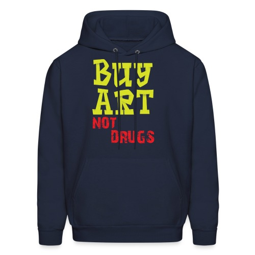 Buy art to drugs - Men's Hoodie