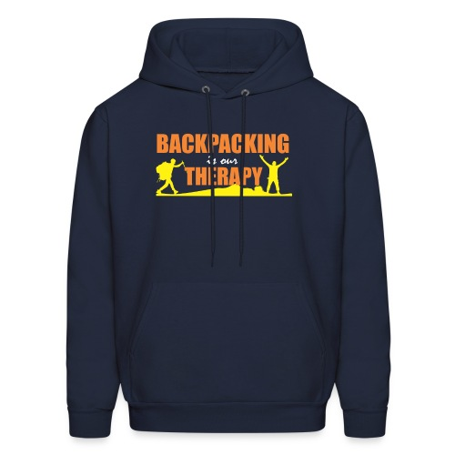BackPacking is our Therapy - Men's Hoodie