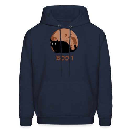 Cat Shirt, Funny Cute Animal Halloween Costum - Men's Hoodie