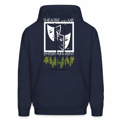 For Shirt Logo white 01 - Men's Hoodie